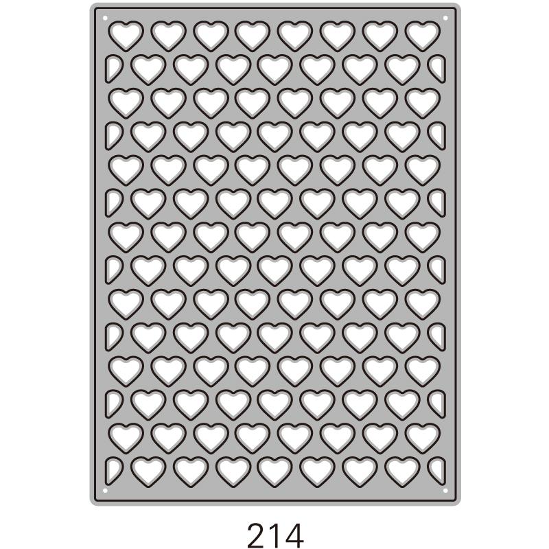 214/WonderHouse/ワンダーハウス/ダイ(抜型)/ATCカード ハート