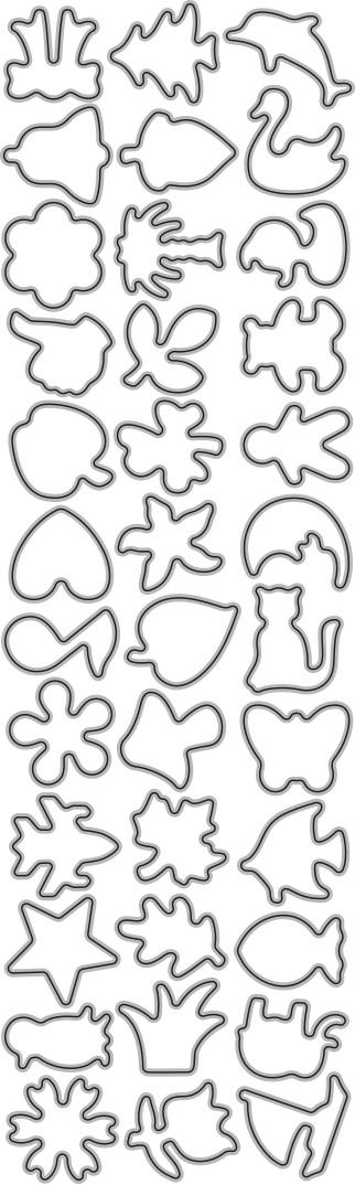 015/WonderHouse/ワンダーハウス/ダイ(抜型)/アイコン セット Mサイズ
