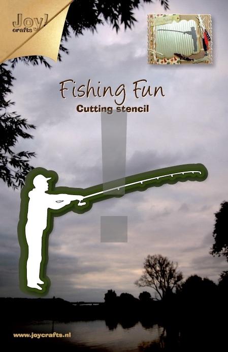 6002-0152/Joy! Crafts/ジョイ・クラフツ/ダイ(抜型)/Fisherman 釣り