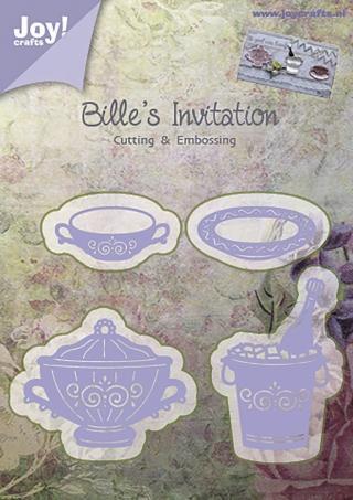 6002-0373/Joy! Crafts/ジョイ・クラフツ/ダイ(抜型)/Bille's Invitation 食器