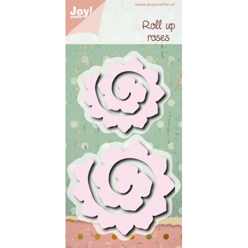 6002-0472/Joy! Crafts/ジョイ・クラフツ/ダイ(抜型)/Roll up roses scallop L/S ロールアップ ローズ スカロップ