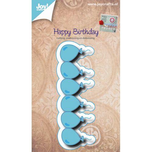 6002-0474/Joy! Crafts/ジョイ・クラフツ/ダイ(抜型)/Balloon Border 風船