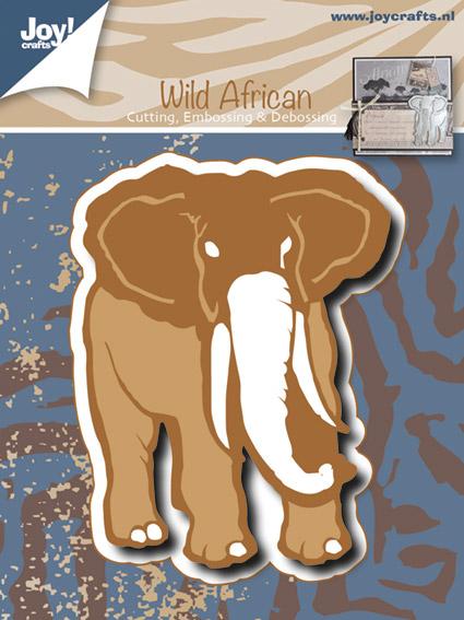 6002-0477/Joy! Crafts/ジョイ・クラフツ/ダイ(抜型)/Elephant 象 ゾウ ぞう