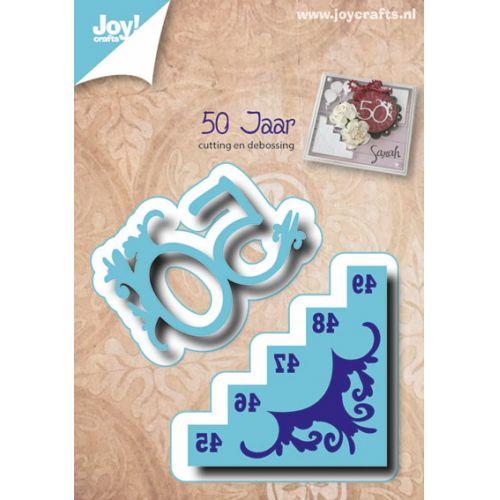 6002-0485/Joy! Crafts/ジョイ・クラフツ/ダイ(抜型)/50 age and stairs 50周年