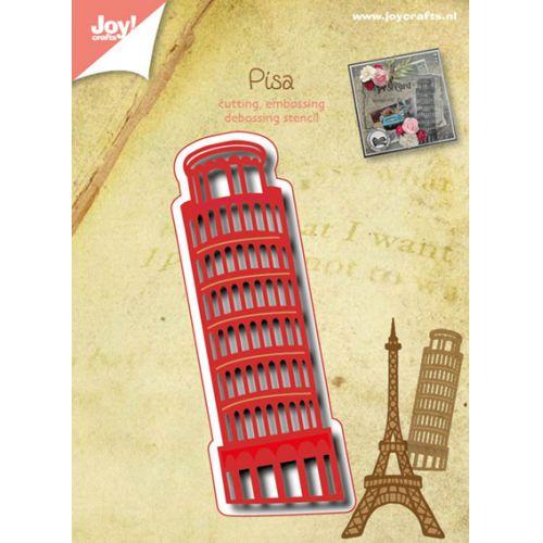 6002-0487/Joy! Crafts/ジョイ・クラフツ/ダイ(抜型)/Tower of Pisa ピサの斜塔
