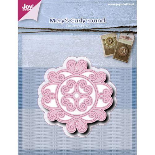 6002-0517/Joy! Crafts/ジョイ・クラフツ/ダイ(抜型)/Curly round ラウンド カーリー