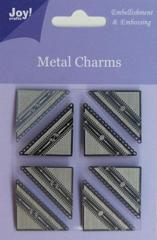 6350-0105/Joy! Crafts/ジョイ・クラフツ/メタルチャーム/コーナー エンベリッシュメント