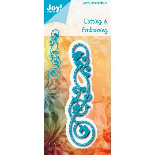 6002-0542/Joy! Crafts/ジョイ・クラフツ/ダイ(抜型)/Edge with holes エッジ 蔦