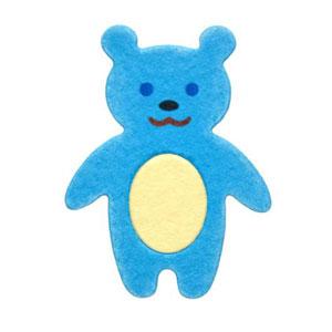 35-029/WonderHouse/ワンダーハウス/スポンジダイ(抜型)/bear クマ くま 熊