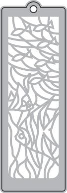 030/WonderHouse/ワンダーハウス/ダイ(抜型)/ブックマーク エンボス しおり 海・さかな