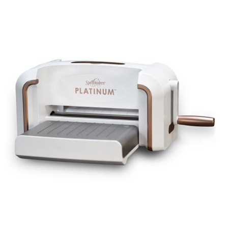 PL-001/Spellbinders/スペルバインダーズ/ダイカットマシン/Platinum Die Cutting and Embossing Machine 8.5 Platform プラチナム8.5インチ