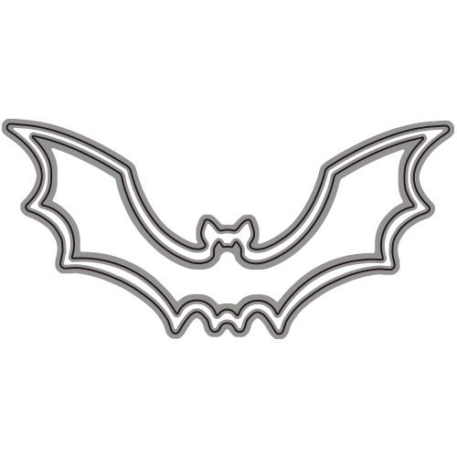 271/WonderHouse/ワンダーハウス/ダイ(抜型)/コウモリ こうもり 蝙蝠 bat