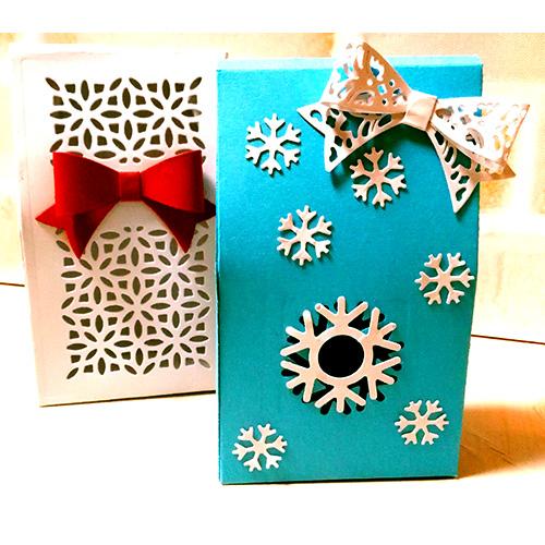 岩崎浩子先生「カードストックを使ったクリスマス・お正月の4点セット☆初心者さんオススメ!」12/15開催分スクラップブッキング教室