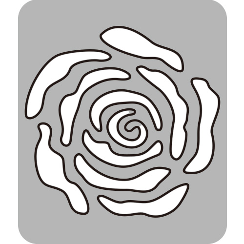285/WonderHouse/ワンダーハウス/ダイ(抜型)/Rose 薔薇 ばら バラ ランタン
