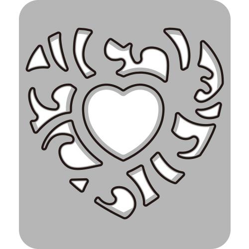286/WonderHouse/ワンダーハウス/ダイ(抜型)/Heart ハート ランタン