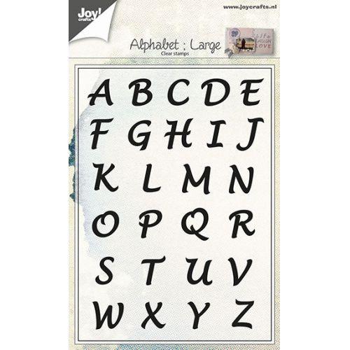 6410-0437/Joy! Crafts/ジョイ・クラフツ/クリアスタンプ/Alphabet Uppercase
