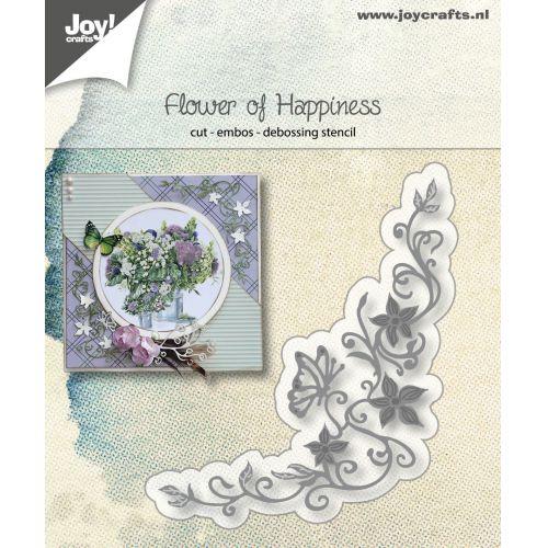 【6002-1186】ジョイ・クラフツ/ダイ(抜型)/Flower of Happiness フラワーハピネス
