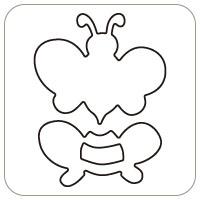 N57-075/WonderHouse/ワンダーハウス/ダイ(抜型)/bee ハチ はち 蜂