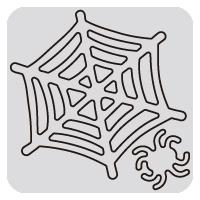 N57-049/WonderHouse/ワンダーハウス/ダイ(抜型)/spider web 蜘蛛の巣 クモ