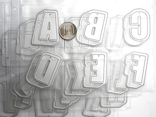 041/WonderHouse/ワンダーハウス/ダイ(抜型)/アルファベット セッ 収納シート付