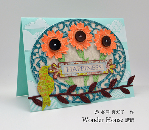 048/WonderHouse/ワンダーハウス/ダイ(抜型)/花 フラワー ひまわり
