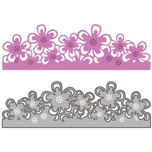 6002-0476/Joy! Crafts/ジョイ・クラフツ/ダイ(抜型)/flower border フラワー ボーダー