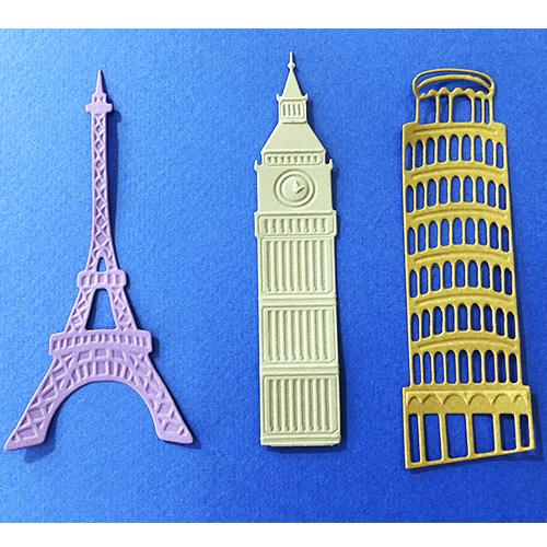6002-0486/Joy! Crafts/ジョイ・クラフツ/ダイ(抜型)/Eiffel Tower エッフェルタワー