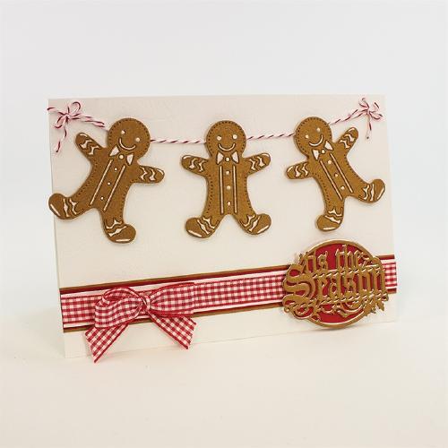 1011E/Tonic Studios/トニック・スタジオ/ダイ(抜型)/Rococo Petite Gingerbread Man ジンジャーブレッド