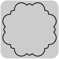 50-125_W1122/WonderHouse/ワンダーハウス/スポンジダイ(抜型)/ornate circle 丸