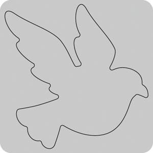 35-058/WonderHouse/ワンダーハウス/スポンジダイ(抜型)/dove ハト はと 鳩