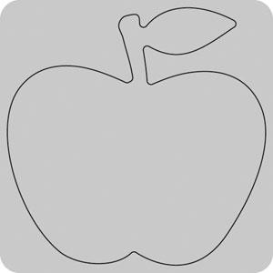 35-201/WonderHouse/ワンダーハウス/スポンジダイ(抜型)/apple リンゴ りんご