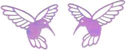 DCN040/ELLENTINA/エレンティーナ/ダイ(抜型)/HUMMINGBIRD ハミングバード ハチドリ