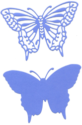 DCN016/ELLENTINA/エレンティーナ/ダイ(抜型)/ELEGANT BUTTERFLY WITH ANGEL WINGS 蝶
