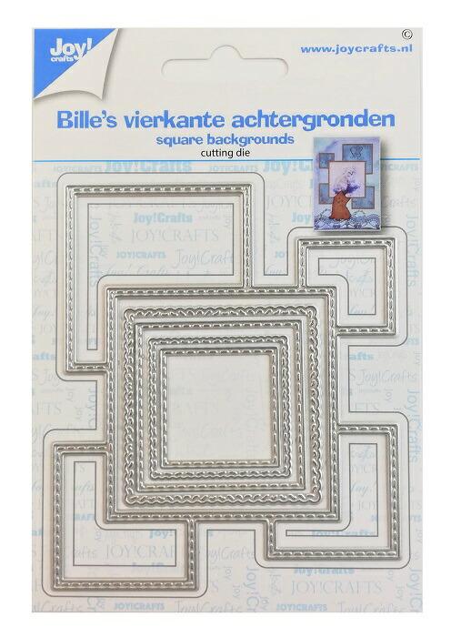 【6002-1562】/ジョイ・クラフツ/ダイ(抜型)/ Square Background 正方形バックグラウンド