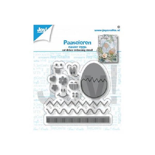 【6002-1486】/ジョイ・クラフツ/ダイ(抜型)/Egg all kinds 卵 ※ワンダーカッツ使用時はダイの切り離しが必要