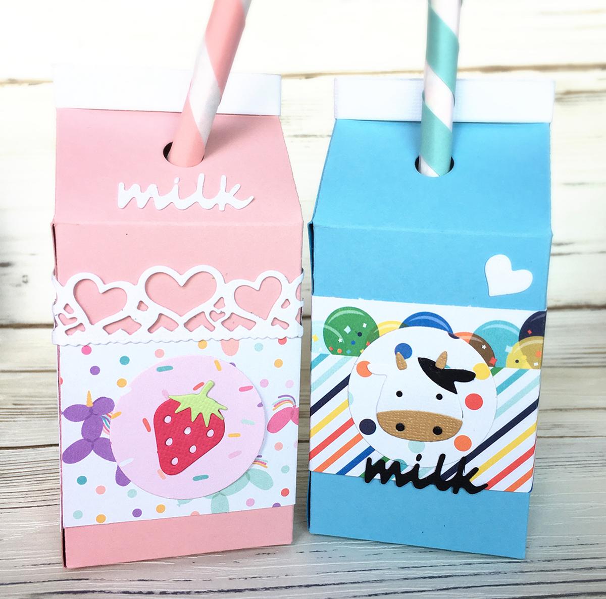 柿沼聡美先生 ミルクパックダイを使った「MILK パック ペン立て」クラフトキット
