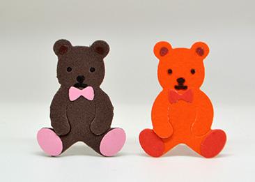 N42-149/WonderHouse/ワンダーハウス/ダイ(抜型)/bear クマ くま 熊 イワミ・カイ