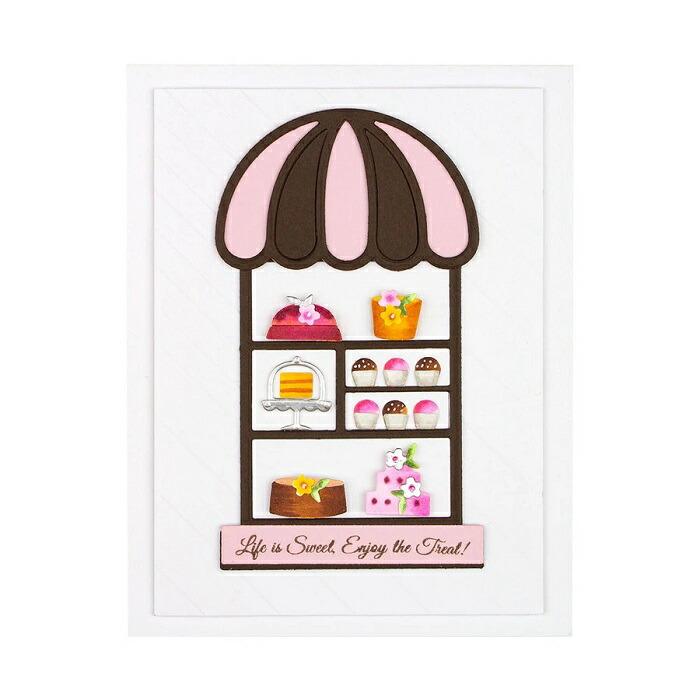 【S4-1098】/スペルバインダーズ/ダイ(抜型)/The Sweet Shoppe スイーツショップ ケーキ屋 ケーキ スイーツ