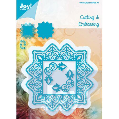 6002-0416/Joy! Crafts/ジョイ・クラフツ/ダイ(抜型)/square + 2 corners フレーム コーナー