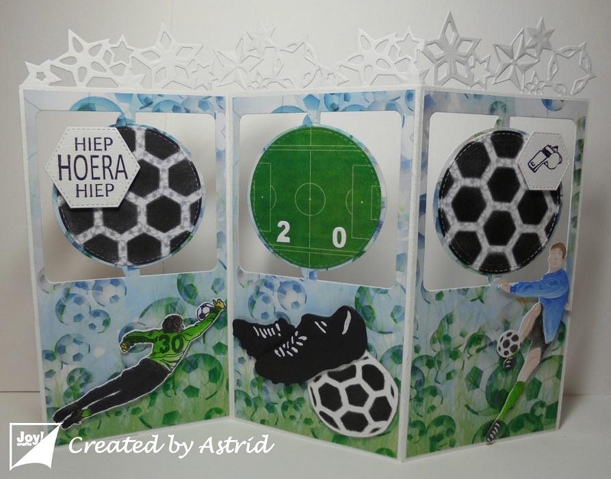 6002-0919/Joy! Crafts/ジョイ・クラフツ/ダイ(抜型)/Soccer shoes サッカー シューズ スパイク 3D