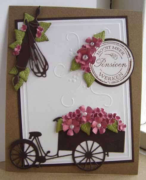 6002-0305/Joy! Crafts/ジョイ・クラフツ/ダイ(抜型)/Tricycle パン屋 ワゴン