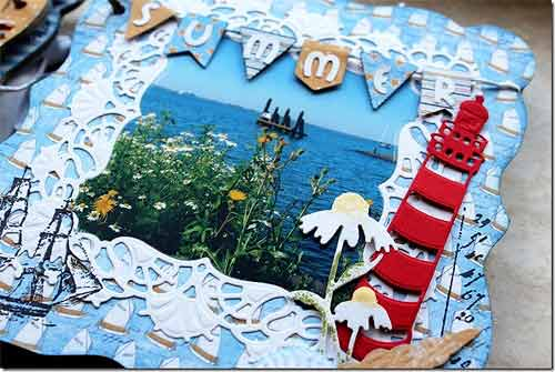 6003-0028/Joy! Crafts/ジョイ・クラフツ/ダイ(抜型)/Labels & Tags flags ラベル タグ フラッグ