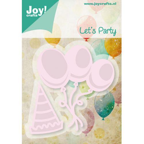 6002-0426/Joy! Crafts/ジョイ・クラフツ/ダイ(抜型)/Balloons and hat パーティ 帽子 風船