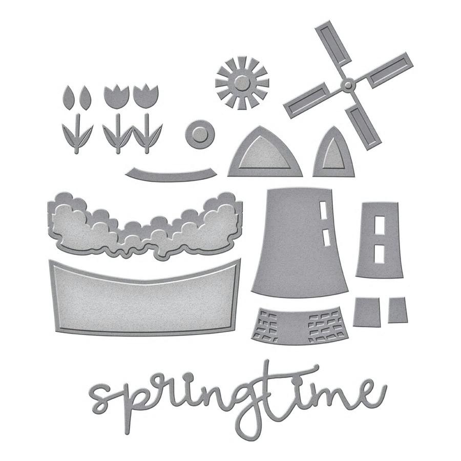 【S4-1017】スペルバインダーズ/ダイ(抜型)/Spring time Snapshot 春のスナップショット