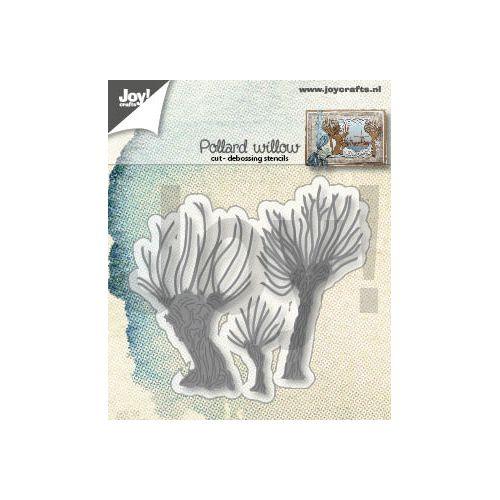 【6002-1411】/ジョイ・クラフツ/ダイ(抜型)/APollard willows ポラード柳 木 ※ダイの切り離しでワンダーカッツ使用可能