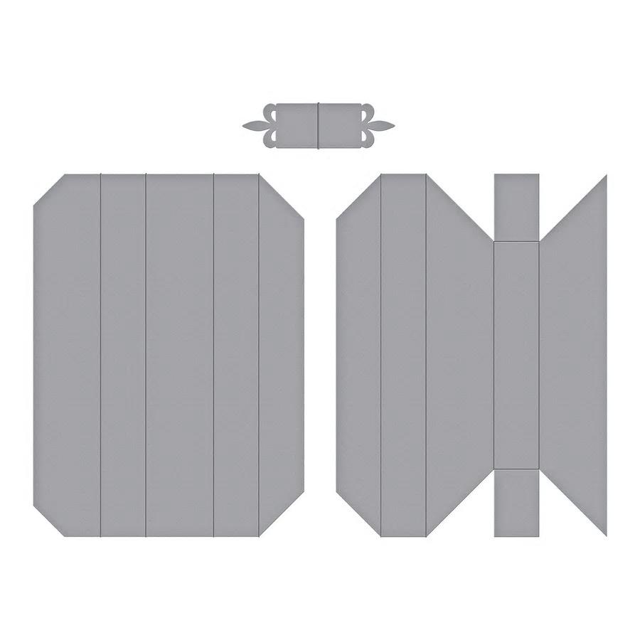 【S4-980】スペルバインダーズ/ダイ(抜型)/Adjustble Shadowbox Frame 調整可能のシャドーボックス フレーム