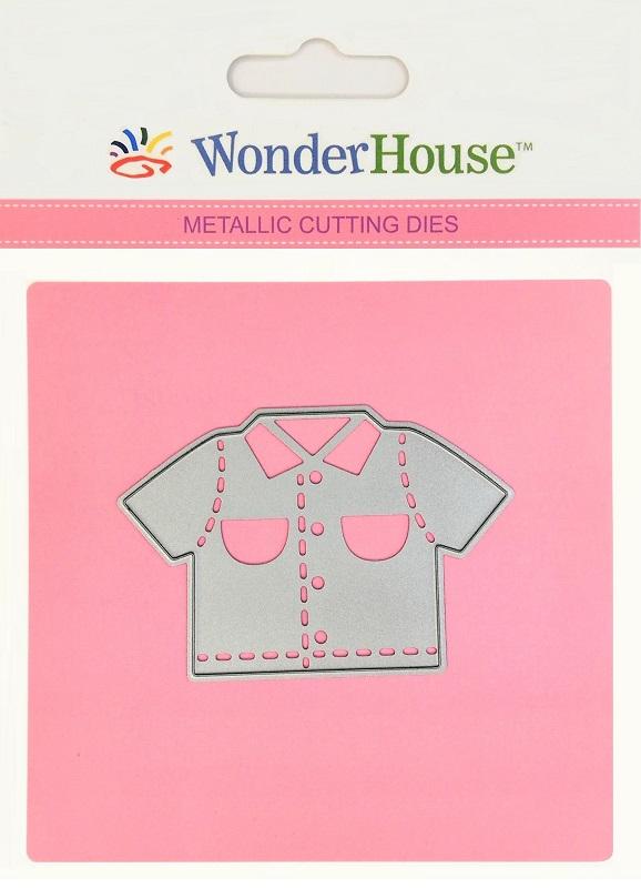 297/WonderHouse/ワンダーハウス/ダイ(抜型)/Shirt 半袖シャツ