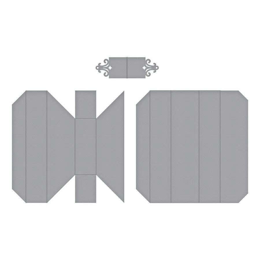 【S4-981】スペルバインダーズ/ダイ(抜型)/Adjustable Shadowbox Frame四角 調整可能 シャドーボックスフレーム