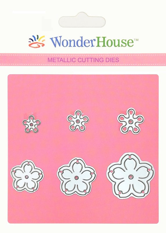 351/WonderHouse/ワンダーハウス/ダイ(抜型)/花 Flower セット