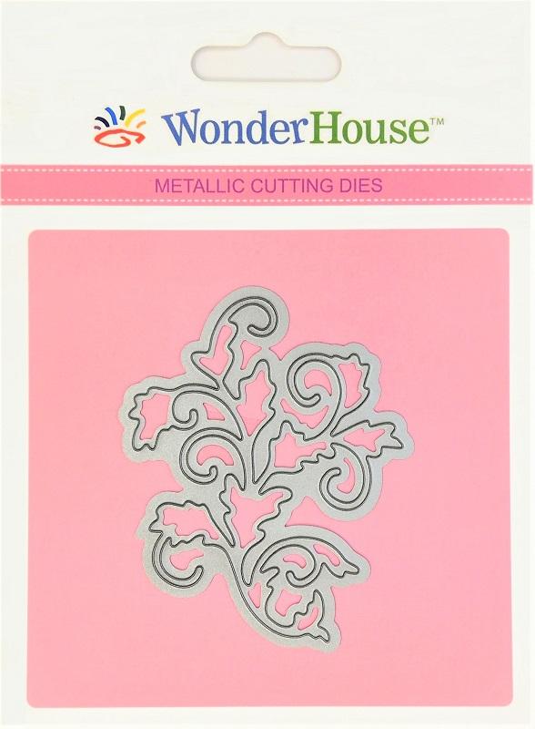 299/WonderHouse/ワンダーハウス/ダイ(抜型)/Swirls twigs 小枝
